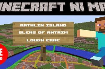 Minecraft NI Map